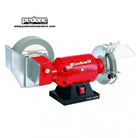 Einhell Smerigliatrice combinata da banco a secco e ad acqua TC WD 150/200