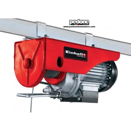 Paranco elettrico 500W capacità 250 kg Argano Montacarichi EINHELL TC-EH 250-18