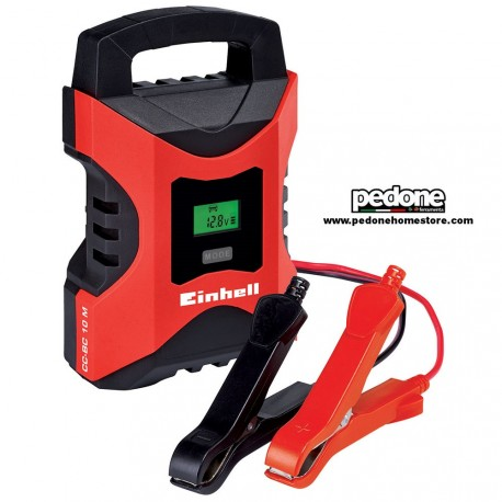 Caricabatterie auto Einhell CC-BC 10 M - 12V - batterie auto e moto fino a 200A