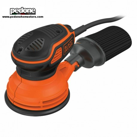 Black&decker levigatrice roto-orbitale 240w + accessori orbite 3mm freno ka199