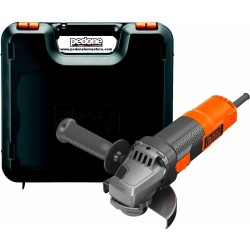 Smerigliatrice Angolare 115 mm Black Decker 900 Watt 12000giri/min BEG210K