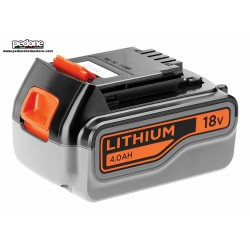 Black+Decker Batteria a litio 18V 4AH di ricambio BL4018