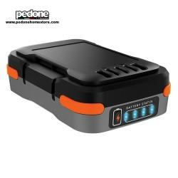 BLACK&DECKER BATTERIA AL LITIO 12V 1.5AH CARICABATTERIE USB POWER BANK BDCB12B