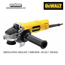 DEWALT DWE4056 SMERIGLIATRICE ANGOLARE 800W 115mm - NO VOLT