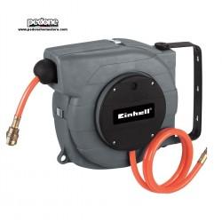Avvolgitubo automatico Einhell DLST 9+1 da parete + tubo da 9mt per compressore