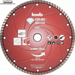 Disco Diamantato Taglio Diamante D.230 KWB Cut-Fix Red-LINE 7978-40