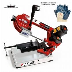 Segatrice a nastro Femi 780 XL troncatrice per ferro sega inox metallo + guanti OMAGGIO