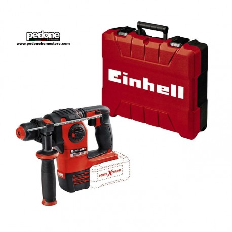 Einhell HEROCCO - Martello tassellatore a batteria 18V motore brushless 4funzion