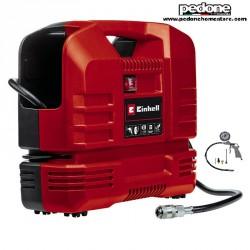 Einhell Compressore Portatile a Valigetta a Presa Diretta TC-AC 190 OF SET con accessori