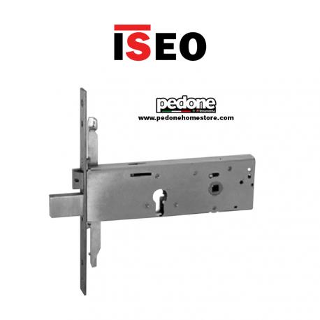 SERRATURA INFILARE ISEO 963120102 TRIPLICE CILINDRO EUROPEO INOX E.100