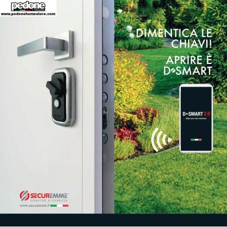 D-SMART 2.0 SISTEMA MOTORIZZATO DI SICUREZZA SMARTPHONE PER PORTE B&B HOTEL