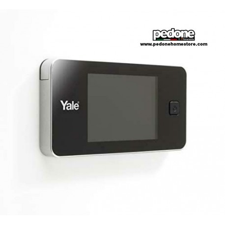 """Spioncino elettronico digitale universale con display da 3,2"""" Yale art.45-0500"""