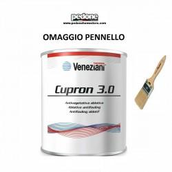 VENEZIANI ANTIVEGETATIVA CUPRON 3.0 LITRI 0,75 - NERO - BLU - ROSSO