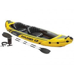"canoa gonfiabile ""explorer k2"" Intex"