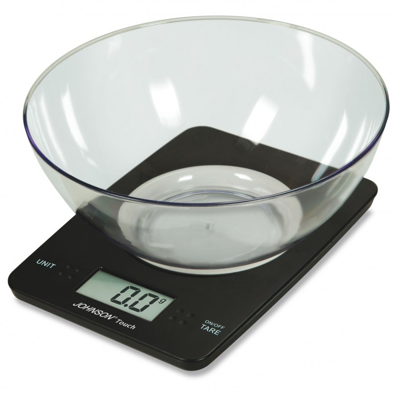 Bilancia digitale da cucina touch johnson pedone home store - Bilancia da cucina digitale ...