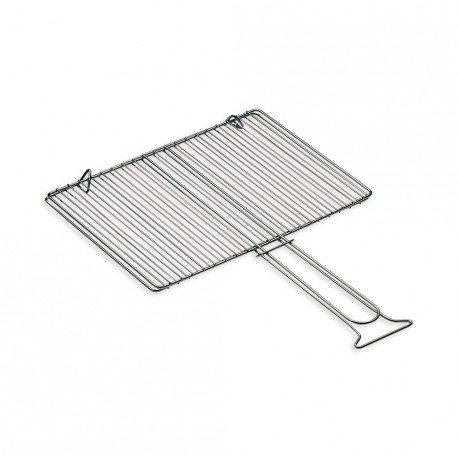 Griglia doppia per barbecue ferraboli pedone home store for Griglia per barbecue bricoman
