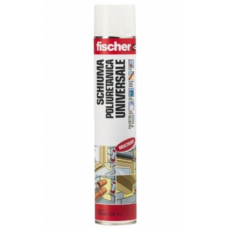 Schiuma poliuretanica FISCHER professionale PUFS-R 750 alte temperature 9298