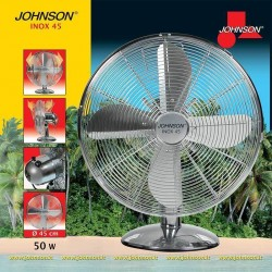 Ventilatore Da Tavolo Inox 45 Johnson