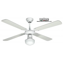 VENTILATORE A SOFFITTO STELLA JOHNSON 4 PALE REVERSIBILI