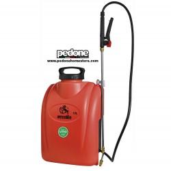 Pompa a Spalla Ausonia Zaino Serbatoio da 12 Litri Batteria a Litio 12V 8Ah