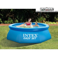 "PISCINA TONDA AUTOPORTANTE INTEX ""EASY SET"" 244X76h"