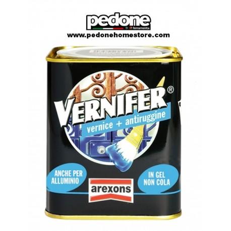 VERNIFER AREXONS PITTURA SMALTO GEL BRILLANTE VERNICE ANTIRUGGINE 2 in 1 0,750ml