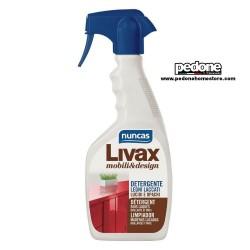 Detergente per legni laccati lucidi e opachi NUNCAS Livax 500 ml