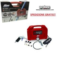 Valigia compressore aria portatile manutenzioni FIAC PIT STOP 1,5HP +11 pezzi SPEDIZIONE GRATIS!
